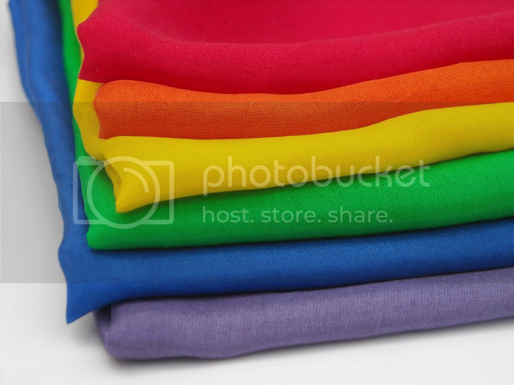 11&quot; Mini Playsilks - Rainbow - Set of 6