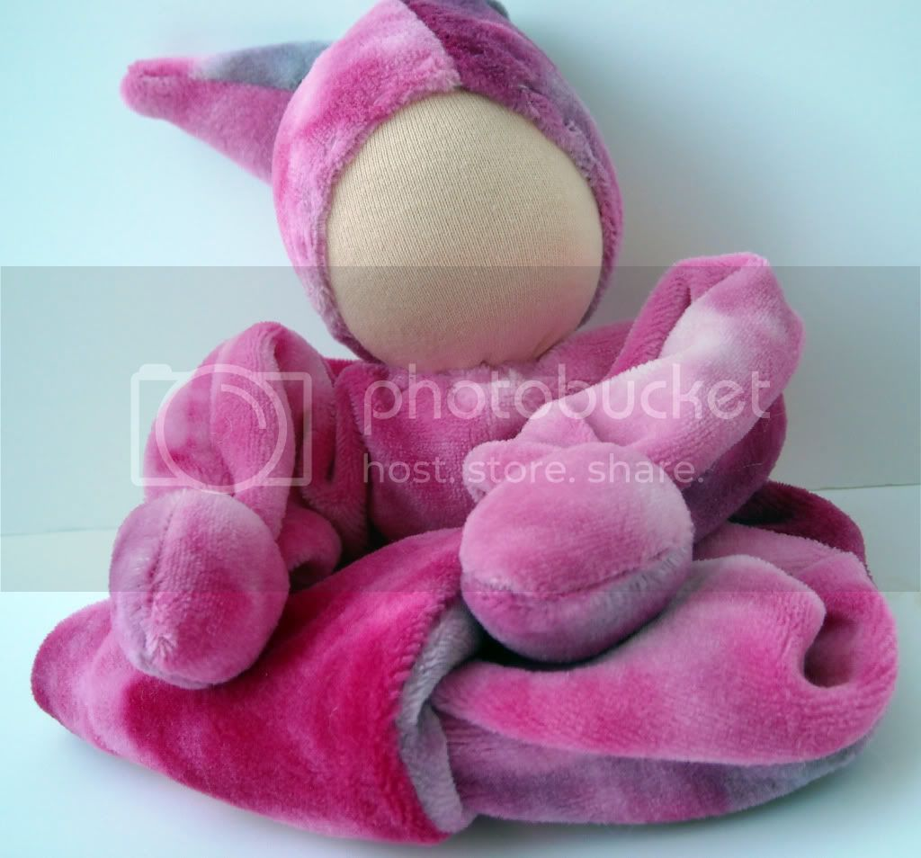 Waldorf Cuddle Doll - Pink