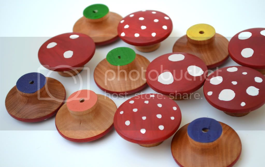 Wooden Memory Game&lt;br&gt;Memory Mushrooms&lt;br&gt;Montessori Learning Toy