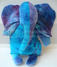 Purple and Blue OBV Elephant