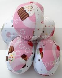 Cupcake Easter Eggs - Set of 6
