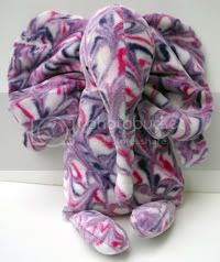 OBV Elephant - Purple &amp; Pink Marble Dye