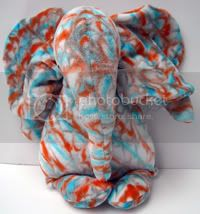 Crunchy Congo Knit Month&lt;br&gt;OBV Elephant - Blue &amp; Orange Marble Dye
