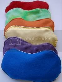 Rainbow Jelly Beanies - Set of 6