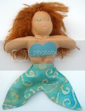 Waldorf Inspired Mermaid Doll
