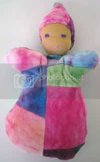 Waldorf Inspired Bunting Doll