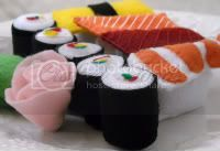 Sushi Felt Playfood