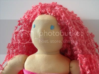 :My Favorite Fantasy Creature:&lt;br&gt;Mermaid Waldorf Doll - 15&quot;