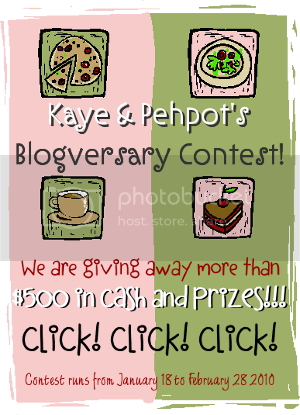 BIG Blogversary Contest